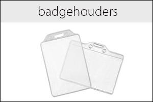 Transparante badgehouders
