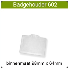 Badgehouder type 602
