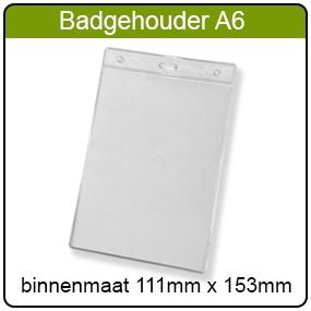 Badgehouder type A6