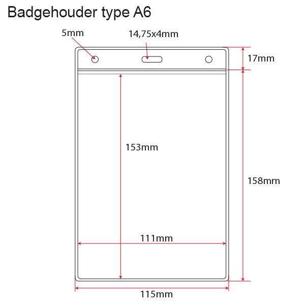 badgehouder type A6