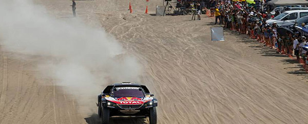 Dakar finish