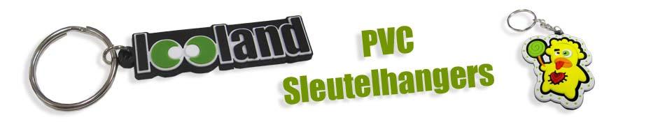 PVC flexibele sleutelhanger